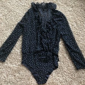 Zara Other - Zara blue star body suit size large